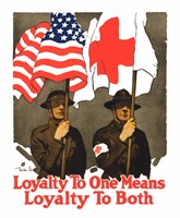 Loyatly to One Means Loyalty to Both Fine Art Print