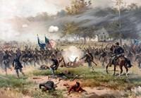 Battle of Antietam Fine Art Print