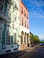 Typical Colonial Architecture, San Juan, Puerto Rico, Fine Art Print