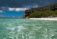 Pajaros beach in Mona Island, Puerto Rico, Caribbean Fine Art Print
