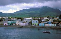 Waterfront, Basseterre, St Kitts, Caribbean Fine Art Print