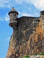 Watchtower, Fort San Felipe del Morro, San Juan, Puerto Rico, Fine Art Print