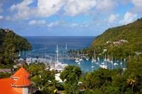Marigot Bay, St Lucia, West Indies, Caribbean Fine Art Print
