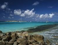 Orient Bay, St Martin, Caribbean Fine Art Print