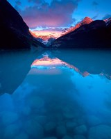 Alberta, Banff NP, Victoria Glacier, Lake Louise Fine Art Print