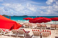 Orient Beach, St Maarten, French West Indies Fine Art Print