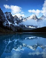 Valley of Ten Peaks, Lake Moraine, Banff National Park, Alberta, Canada Fine Art Print