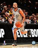 Tony Parker 2014-15 Action Fine Art Print
