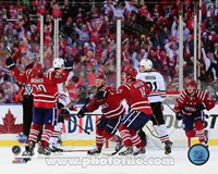 Troy Brouwer Game Winning Goal 2015 NHL Winter Classic Fine Art Print