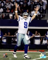 Tony Romo Touchdown Celebration 2014 Playoff Action Fine Art Print