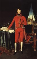 Napoleon Bonaparte in Red Fine Art Print