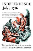 Thomas Jefferson Reading the Declaration of Independence Fine Art Print