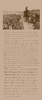 President Abraham Lincoln and Gettysburg Address Fine Art Print