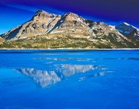 Vimy Peak Reflects into Waterton Lake, Wateron Lakes National Park, Alberta, Canada Fine Art Print