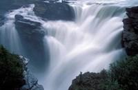 Athabasca Falls in Jasper National Park, Canada Fine Art Print