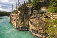 Canada, Alberta, Jasper National Park, Athabasca River Fine Art Print