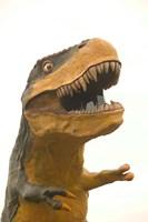 World's Largest Tyrannosaurus Rx, Drumheller, Alberta, Canada Fine Art Print
