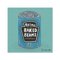 Baked Beans Framed Print