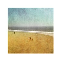 Beach Kids Fine Art Print
