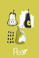 Pear Study Fine Art Print