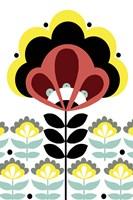 Nordic Flowers V Fine Art Print
