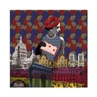 Vintage City III Fine Art Print