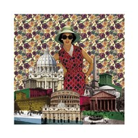 Vintage City IV Fine Art Print