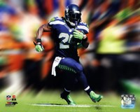 Marshawn Lynch Motion Blast Fine Art Print