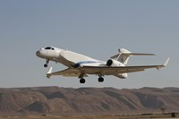 A Gulfstream Nachshon-Eitam of the Israeli Air Force taking off Fine Art Print