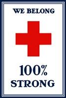 Red Cross - We Belong Fine Art Print