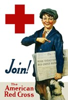Join the American Red Cross Fine Art Print
