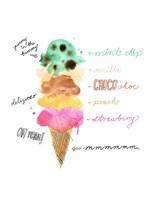 Summer Flavours Framed Print