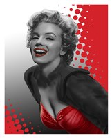 Marilyn Red Fine Art Print