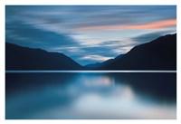 Lake Crescent Dusk Fine Art Print