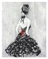 Elegant Booba with Red Sash Fine Art Print