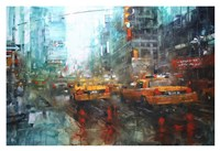 Times Square Reflections Fine Art Print