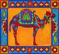 Mosaic Camel Fine Art Print