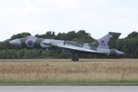 An Avro Vulcan Bomber of the Royal Air Force Fine Art Print