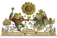 Frog Gavotte Fine Art Print