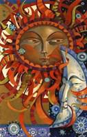 Celestial Courtship Fine Art Print