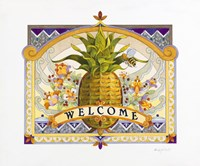 Welcome Pineapple Fine Art Print