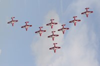 The Snowbirds 431 Air Demonstration Fine Art Print