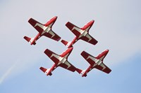 The Snowbirds 43 Squadron of the Royal Canadian Air Force Fine Art Print
