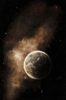A Planet Full of Massive Mountain Chains and Vast Deserts Fine Art Print