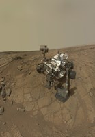 Self-Portrait of Curiosity Rover on the Surface of Mars Fine Art Print