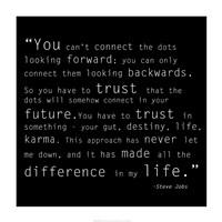 Trust Quote Fine Art Print