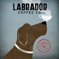 Labrador Coffee Co. Fine Art Print