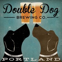Double Dog Brewing Co. Framed Print