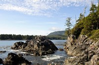 Outcrop, Hot Springs Cove, Vancouver Island, British Columbia Fine Art Print