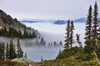 British Columbia, Whistler Mountain, Clouds Fine Art Print